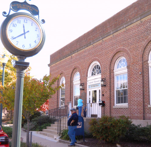 The Seaford Museum and Historical Society  is located in the old Seaford Post Office.