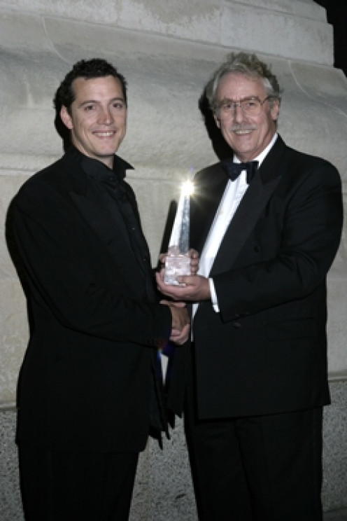 Rob Leslie-Carter was named 'Project Manager of the Year' at the 2003 UK Association for Project Management awards.