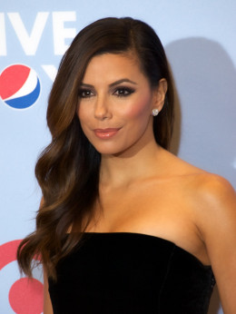 Actress Eva Longoria who is of Spanish and Maya descent.