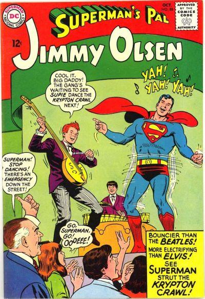 Superman Dancing