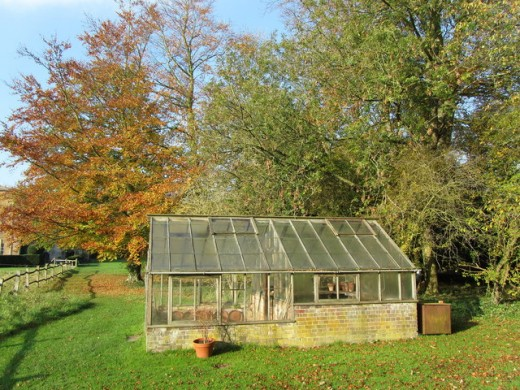 Greenhouse in the Grounds of Walsingham Abbey