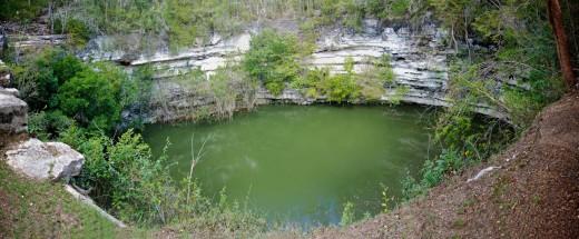 Cenote Sagrada at Chichen Itza.