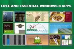 FREE AND ESSENTIAL APPS FOR WINDOWS 8
