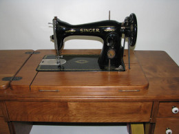 Singer Class 15 Amish Reproduction Sewing Cabinet