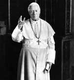 Pope St. Pius X Blessing