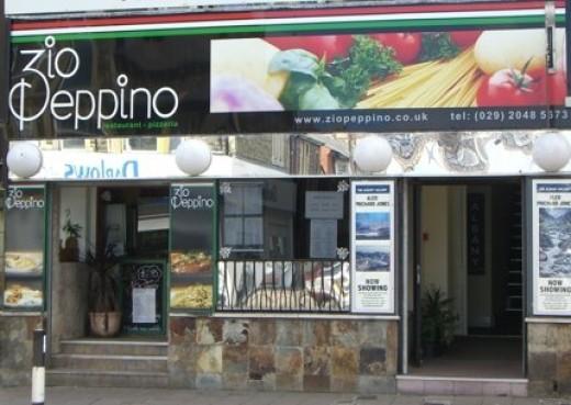 Zio Peppino Restaurant in Roath, Cardiff