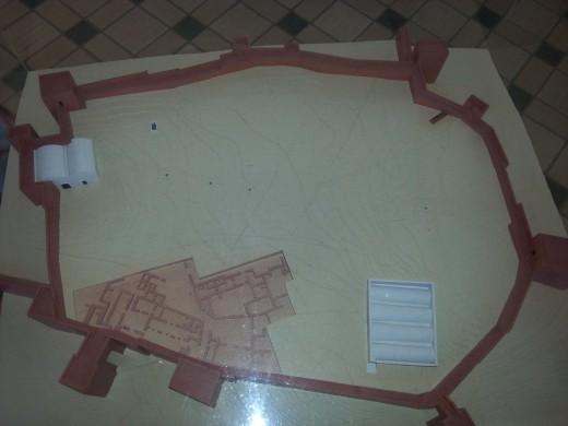 Plan of Silves Castle