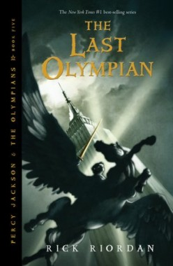 The Last Olympian (Percy Jackson and the Olympians, #5) by Rick Riordan