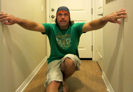 Using a wall or other support and/or resting front leg for assistance in the pistol squat.