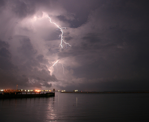 Storm over Grand Isle, Louisiana Source: flickr.com