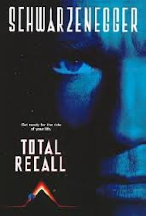 Total Recall was a futuristic action film that was full of fast paced action and some very weird  characters for sure.