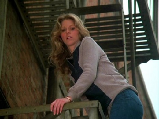 Lindsay Wagner as The Bionic Woman