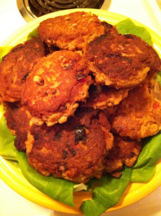 Easy Healthy Homemade Salmon Patties