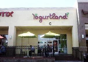 The very first Yogurtland in Fullerton, California.