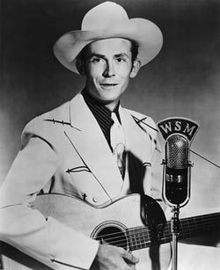 Hank Williams Promotional Photo. (1951-WSM radio)