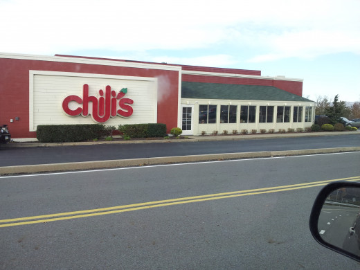 Chili's in Wilkes-Barre, PA, right outside the Wyoming Valley Mall.