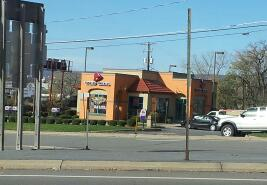 A Taco Bell in Wilkes-Barre, PA on Kidder Street near the mall.