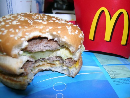 Big Mac from McDonalds
