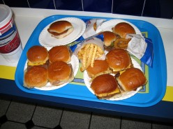 White Castle and Other Fast Food Restaurants in Columbus, Ohio