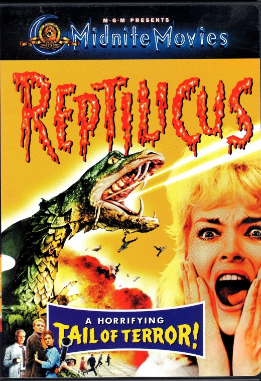 """Reptilicus"", a 1961 movie about a Godzilla-like creature that invades Denmark."