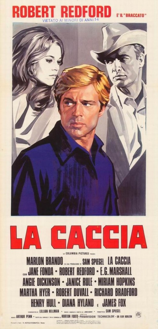 The Chase (1966) Italian poster