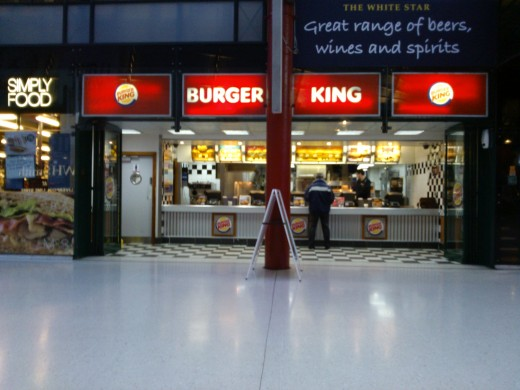 Burger King Lime St Station