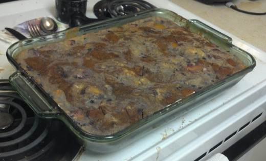 Homemade, Southern style cobbler.