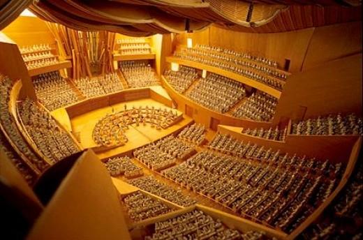Walt Disney Music HallWalt Disney Concert Hall Interior