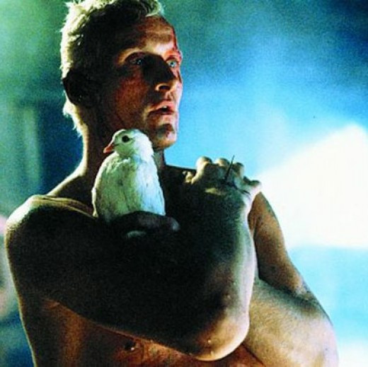 Rutger Hauer as Roy Batty in Blade Runner
