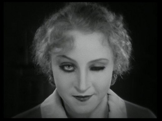 Brigitte Helm as Evil Maria in Metropolis