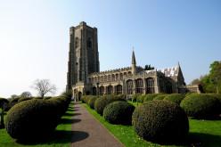 Lavenham Church of St. Peter and St. Paul.