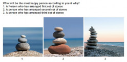 Who is the most happy person according to you & why?