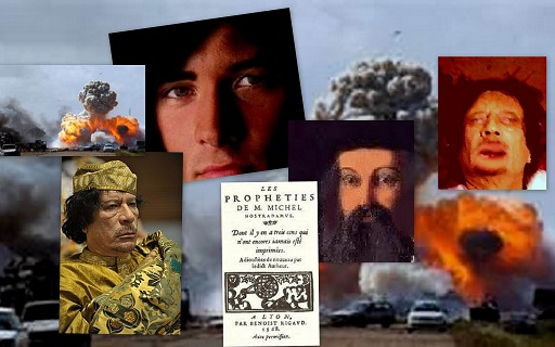 Excl. creation for R. Dorian Grey' s article on Nostradamus and Gaddafi