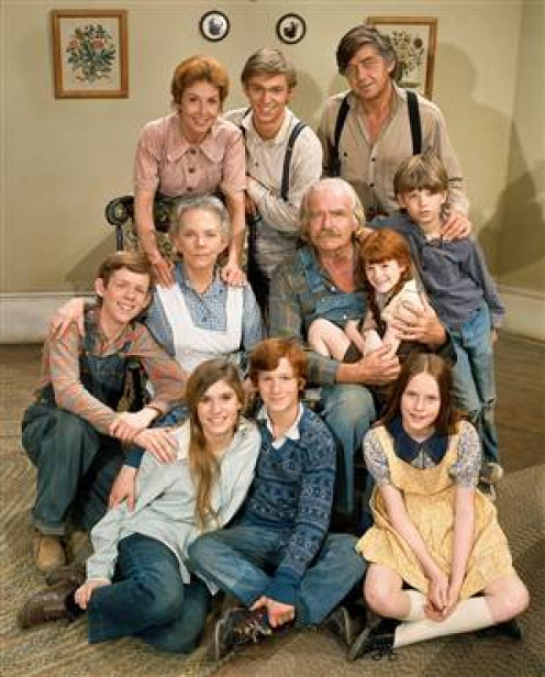 we all recognize this iconic family,.... and while most of us dont have the luxery of living like this,... its easy to see the wisdom in it.