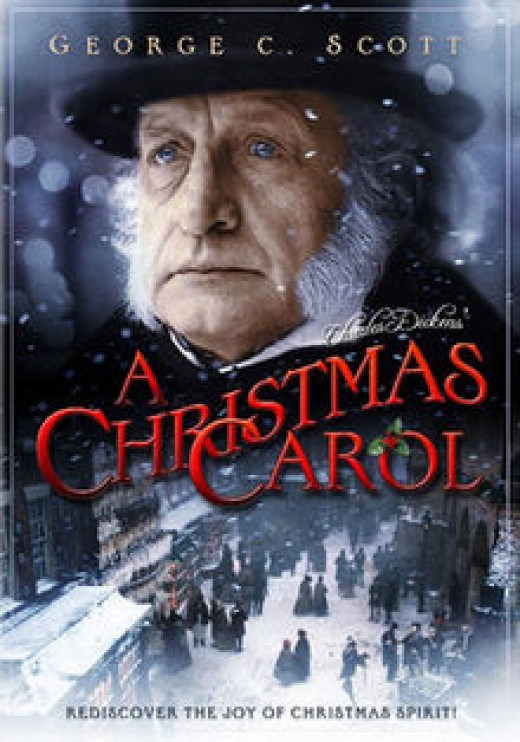 """A Christmas Carol"" 1984 version DVD cover"