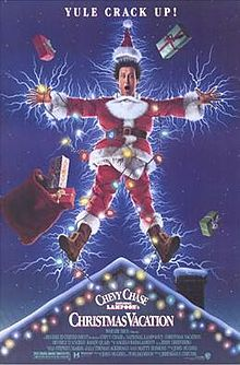 """National Lampoon's Christmas Vacation"" poster"