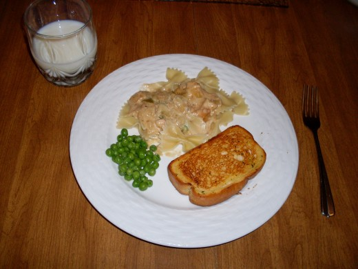 This great dish provides you with a healthy portion of protein and carbohydrates.
