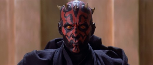 In this version of the prequels, the name 'Darth' is not synonymous with the Sith. Therefore the character portrayed here is known as Lord Maul.