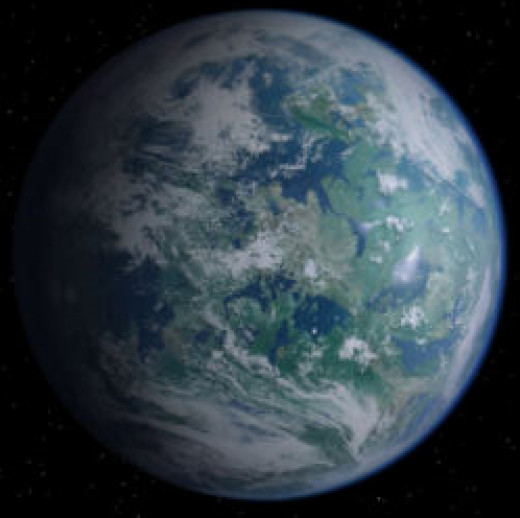 The planet Alderaan, which in this era is a militarised world, home to some of the Republic's most hi-tech and destructive weaponry.