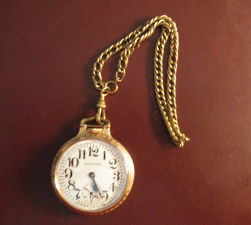 A priceless treasure - my Grandfather's pocket watch