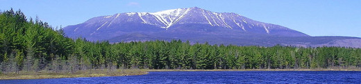 Mount Katahdin, the northern terminus of the Appalachian Trail
