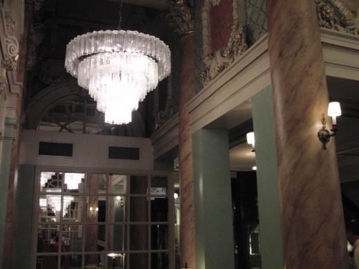Lobby of the Wolcott Hotel