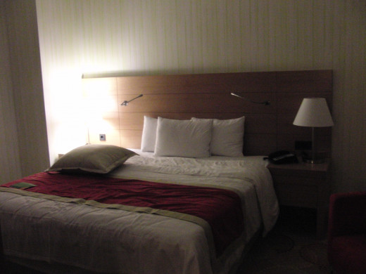 Room at Courtyard by Marriott in Budapest