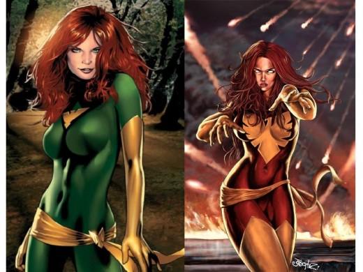 Jean Grey Phoenix / Dark Phoenix Costumes