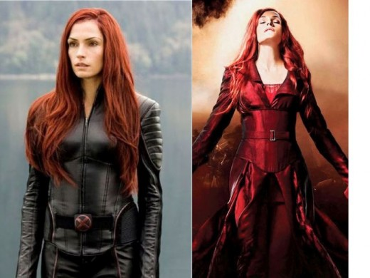 Jamke Janssen as Jean Grey and Dark Phoenix