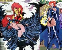 Jean Grey Black Queen Costume