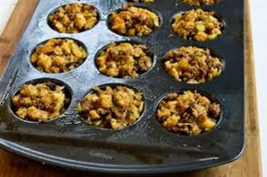 Muffin pan stuffing is a great way to add fun to the love of cooking and it's something that my familt and kids love so try it for your next side dish.