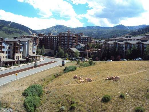 Westgate Park City Resort from the east.