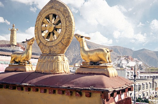 The Potala as seen from the Jokhang