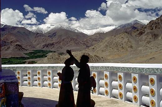 The Peace Stupa, Ladakh